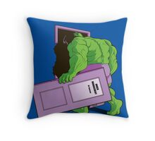 Anger Management Throw Pillow