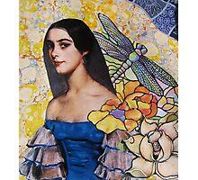 Portrait In Blue Photographic Print