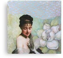 Dove's Heart Canvas Print