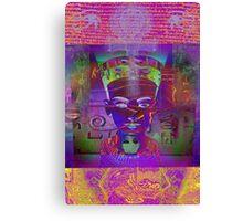 7167 Nefertiti reworked Canvas Print