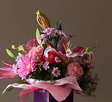 Birthday Flowers II by fotosic