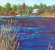 View from Jacksonville Old Town Marina by Jim Phillips