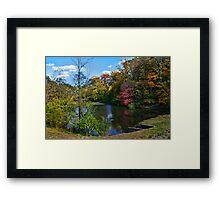 Autumn Artwork Framed Print