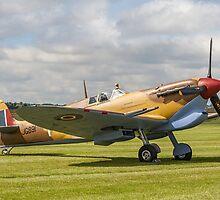 Spitfire LF.VcTrop G-LFVC JG891/TB by Colin Smedley
