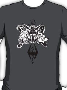 Skyrim Logo Compilation T-Shirt