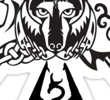 Skyrim Logo Compilation Sticker