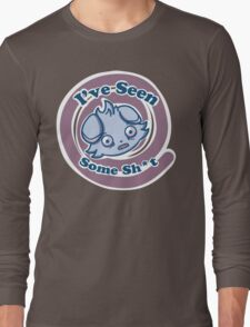 Espurr's seen some sh*t. Long Sleeve T-Shirt