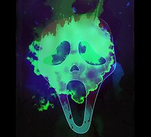 Scream mask horror by mikath