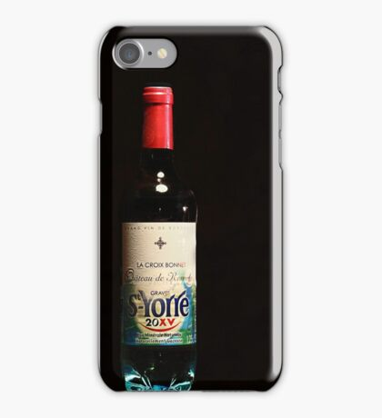 Water into wine. iPhone Case/Skin