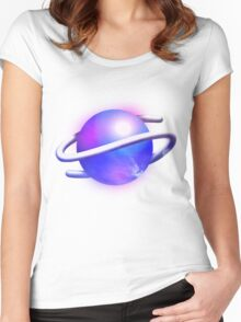 Sega Saturn Forever Women's Fitted Scoop T-Shirt