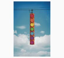 Rainbow Traffic Light Kids Clothes