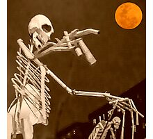 die Nacht der Toten - Happy Halloween Photographic Print