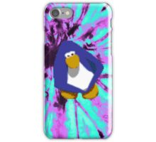 Club Penguin Tie Dye Party iPhone Case/Skin