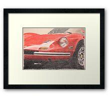 246 GT Framed Print