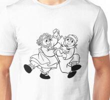 Raggedy Ann & Andy Dancing Unisex T-Shirt