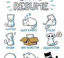 Cat's resume by Showlet
