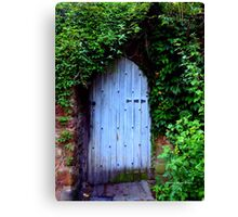 HIDDEN DOORWAY Canvas Print
