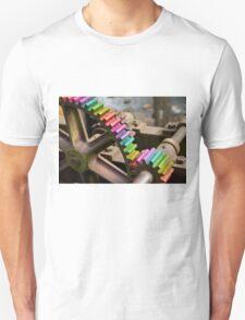 Rainbow Mechanism Gear Unisex T-Shirt