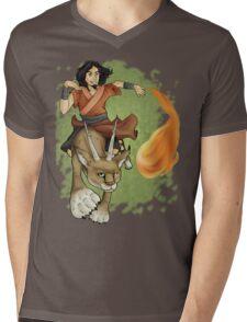 Avatar Wan Mens V-Neck T-Shirt