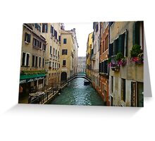 Venice Canals Greeting Card