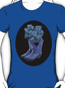 ☆ ★ ☆EVEN COWGIRLS GET THE BLUES -SOMETIMES-(AND COWBOYS 2) TEE SHIRT ☆ ★ ☆¸ T-Shirt