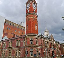 Clock Tower, Launceston, Tasmania, Australia by Margaret  Hyde