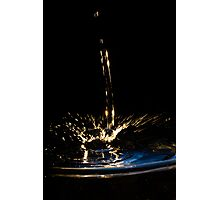 Water Shapes - 04 Photographic Print