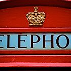London's iconic phone box by joeferma