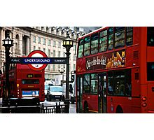 Regent St Bus Photographic Print