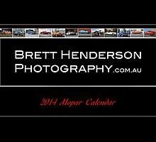 2014 Mopar Calendar  by Brett  Henderson Photography