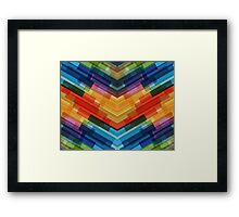 Colour  Matrix 2 Framed Print