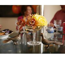 The Luncheon Table Photographic Print