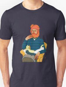 Crazy Cat Man Tee Shirt T-Shirt
