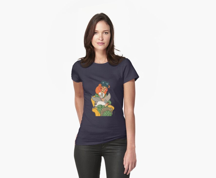 Crazy Cat Lady Tee Shirt by nouvellegamine
