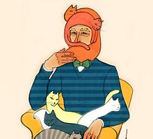 Crazy Cat Man  by nouvellegamine