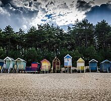 Beach Huts by GreenPanda