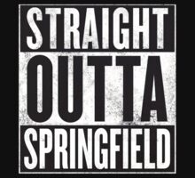 Straight Outta Springfield - The Simpsons Kids Tee