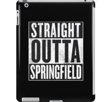 Straight Outta Springfield - The Simpsons iPad Case/Skin