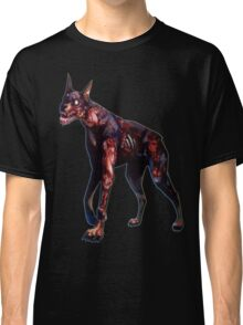 Zombified Dobermann Classic T-Shirt