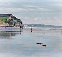Charmouth Beach 3 by Susie Peek