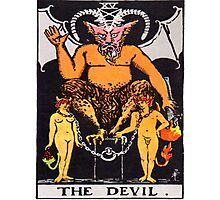Tarot Devil Photographic Print