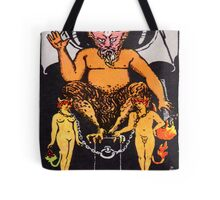 Tarot Devil Tote Bag