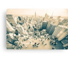 Bleached Manhattan Canvas Print