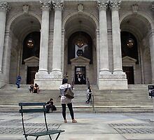 New York City Public Library by Ray Warren