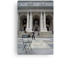 New York City Public Library Canvas Print