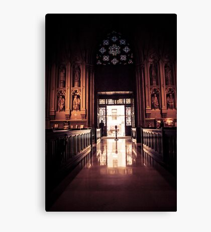 Waiting in Faith Canvas Print