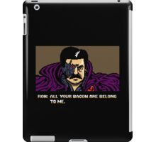 All your bacon are belong to us iPad Case/Skin
