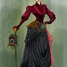 Steampunk lady by VladaNaf