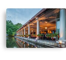 Fine Dining Central Park Canvas Print