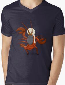 Iraq Lobster Mens V-Neck T-Shirt